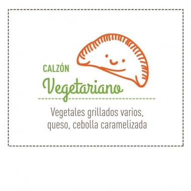 Calzón de Vegetales